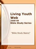 Living Youth Web 2008-09  Bible Study Series