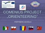 "COMENIUS PROJECT ""ORIENTEERING"""