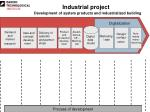 Industrial project Development of system products and industrialized building