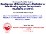 Workshop on Feasibility Study for