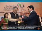 Shri S.B. Khyalia , MD MGVCL Receiving Powerline-2013 Award for