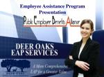 Employee Assistance Program Presentation