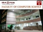Faculty of Computer Science