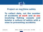 Project on maritime safety (13.6)