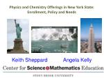 Physics and Chemistry Offerings in New York State: Enrollment, Policy and Needs