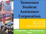Tennessee Student Assistance Corporation
