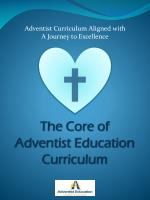 The Core of  Adventist Education Curriculum