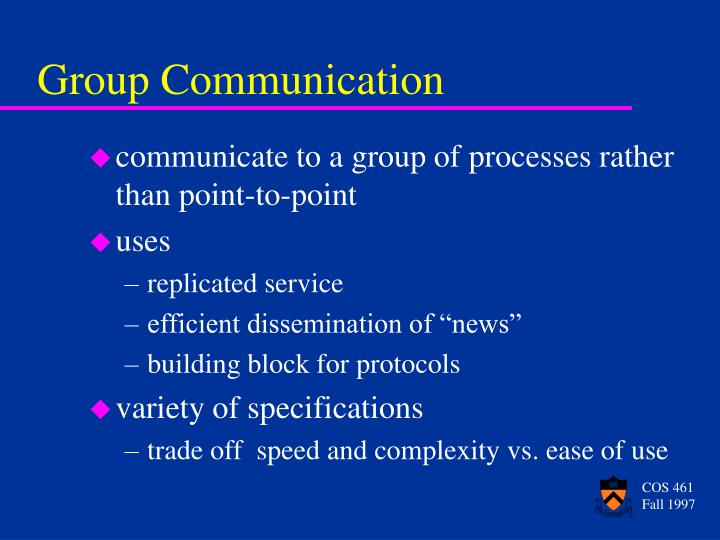 group communication n.