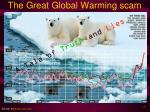 The Great Global Warming scam