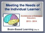 Brain-Based Learning (Day 5)