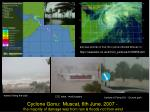 also see pictures of how the cyclone effected Muscat on: