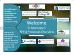 Welcome To Maricopa's  Hiring Processes Overview