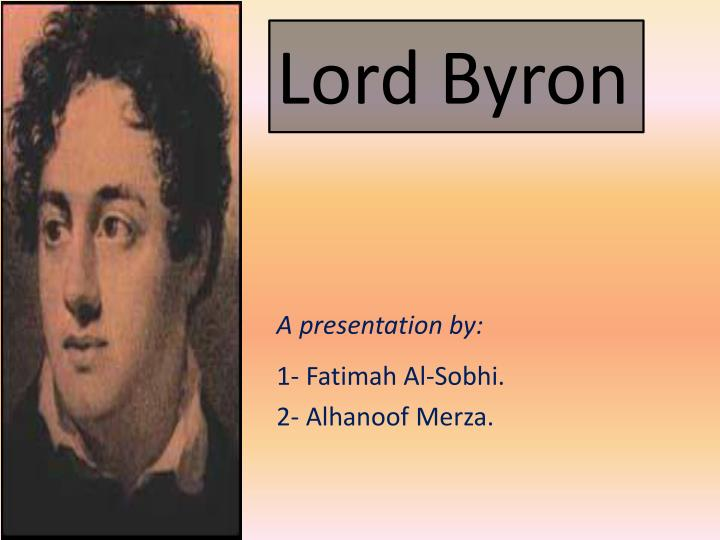 lord byron n.