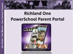 Richland One PowerSchool Parent Portal