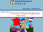 French Class-beginner