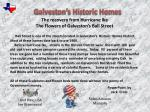 Galveston's Historic Homes