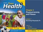 Chapter 3 Physical Activity and Fitness
