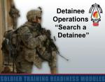 "Detainee Operations ""Search a     Detainee"""