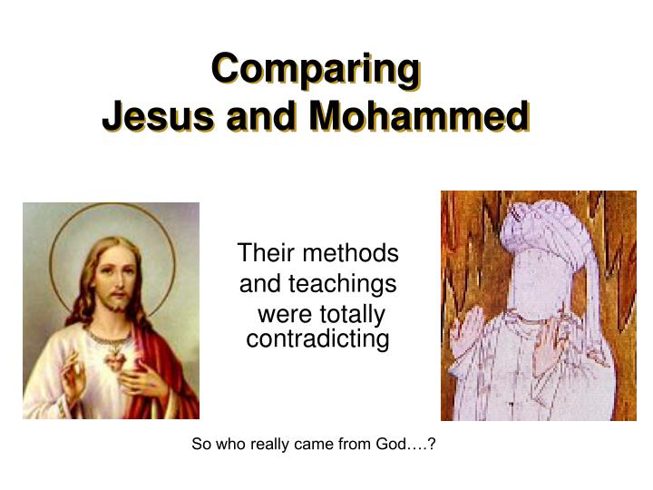 comparing jesus and mohammed n.