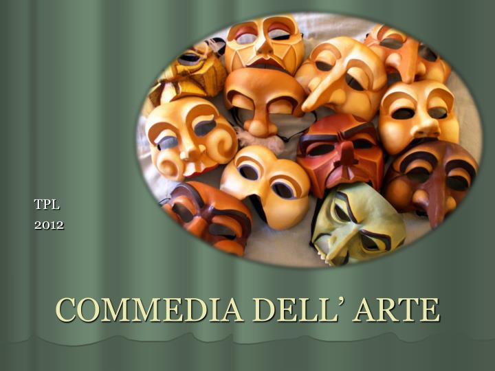 commedia dell arte n.