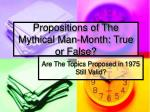 Propositions of The Mythical Man-Month: True or False?