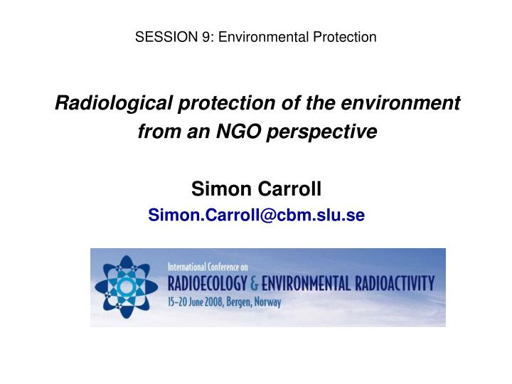 session 9 environmental protection n.