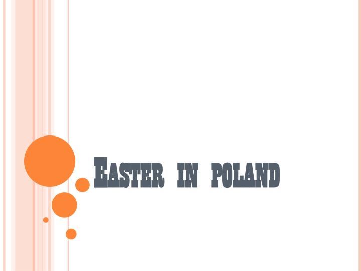 easter in poland n.