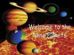 Welcome to the Nine Planets