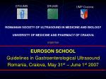 ROMANIAN SOCIETY OF ULTRASOUND IN MEDICINE AND BIOLOGY