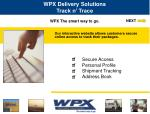 WPX The smart way to go.