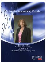 Solve the Advertising Puzzle
