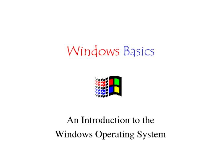 windows basics n.
