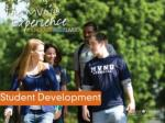 What is Student Development?