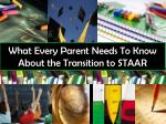 What Every Parent Needs To Know About the Transition to STAAR