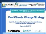 Peel Climate Change Strategy
