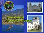 Sewer Lateral Inspection Program