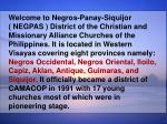 Welcome to Negros-Panay-Siquijor