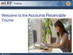 Welcome to the Accounts Receivable Course