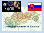 History of Aviation in Slovakia