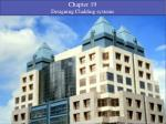 Chapter 19 Designing Cladding systems