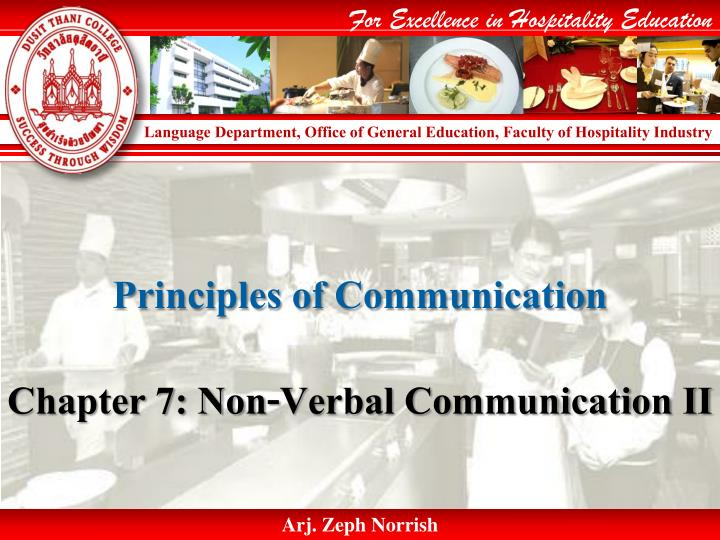 principles of communication n.