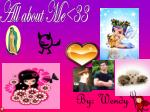 All about Me<33