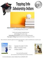 Tapping Into  Scholarship Dollars