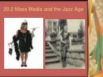 20.2 Mass Media and the Jazz Age