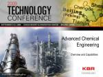 Advanced Chemical Engineering