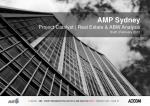 AMP Sydney Project Catalyst | Real Estate & ABW Analysis Draft | February 2012
