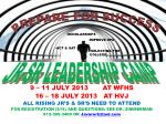 9 – 11 JULY 2013 AT WFHS 16 – 18 JULY 2013 AT HVJ ALL RISING JR'S & SR'S NEED TO ATTEND