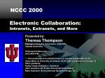 Electronic Collaboration: Intranets, Extranets, and More