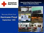 American Red Cross Resources State of North Carolina