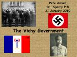 The Vichy Government